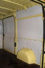 Panelado interior de furgonetas