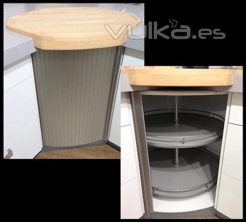Foto rinconera circular de mueble de cocina - Mueble rinconera cocina ...