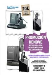 Plan Renove Auriculares Plantronics