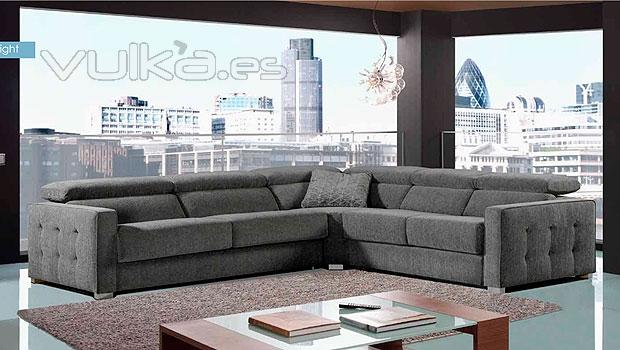 Foto amplio sofa rinconero de 5 plazas for Imagenes de sofas modernos