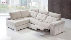 Comodo sofa de 3 plazas con cheslong
