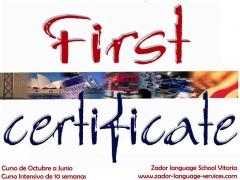 Curso de preparación de First Certificate en Vitoria-Gasteiz