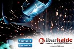 Ibarkalde s.l es una empresa especializada en trabajos de herrería y calderería.