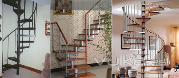 Foto escaleras interiores a medida y a buen precio de for Escaleras interiores precios