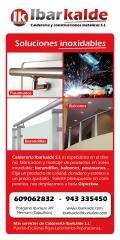 Barandillas de acero inoxidable para escaleras interiores