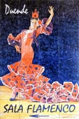 Bailaora flamenca para