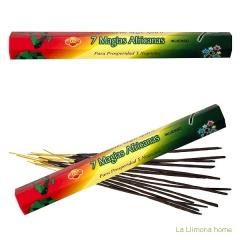 Inciensos y ambientadores. incienso sac 7 magias africanas caja sticks 1 - la llimona home