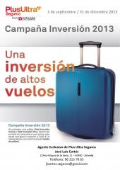 Campaña inversión 2013
