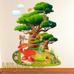 Www.yayaprint.com vinilos infantiles vinilo decorativo pared madrid decoración infantil bebé niño niña - foto 30