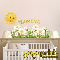 Vinilo decorativo para pared. vinilo infantil, decorar habitación niños y niñas. personaliza, tienda