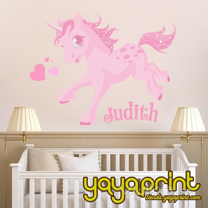 Foto vinilo decorativo para pared vinilo infantil for Programa para decorar habitaciones online