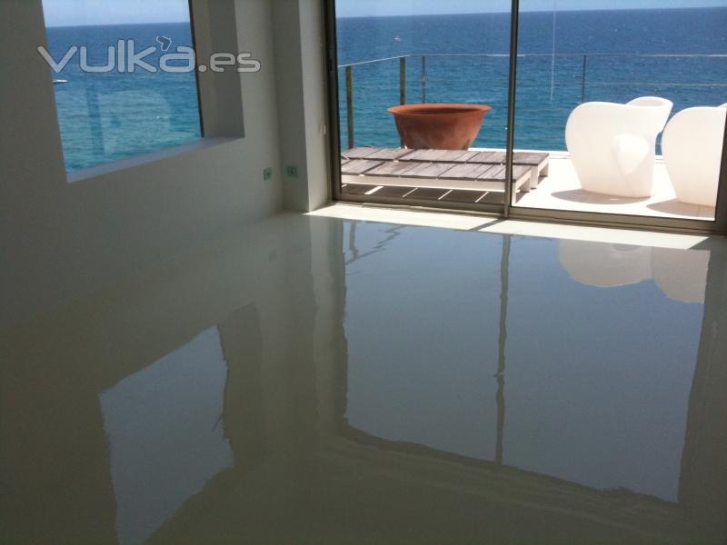 Dscolor s l pavimentos de resina epoxi y poliuretano - Pintura para suelos exterior ...