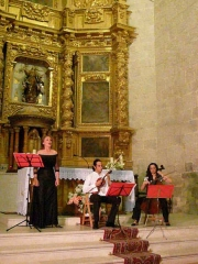 Actuacion de Europa Ensemble en Burgos