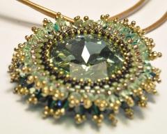 Collar colgante de cristal swarovski