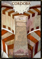 Poster artísticos Cordoba mezquita
