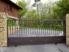 Puerta de cochera corredera