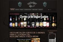Bar rock - dise�o web profesional en madrid con webs 3b