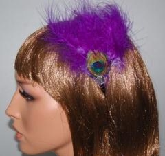 Diadema de elegantes plumas a 1.50 euros