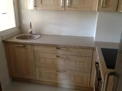 Cocina cottage roble - verde ugarit