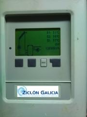 Controlador de temperatura de placas solares