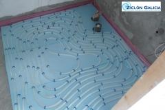Instalaci�n de suelo radiante en ba�o - zicl�n galicia