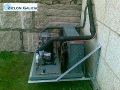 Unidad condensadora de baja temperatura - ziclón galicia