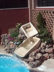Fuentes, mantenimiento de piscinas