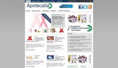 Página web de apotecalia www.apotecalia.es