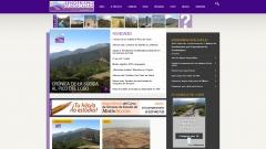 Página web de senderismoguadalajara.es. guías de rutas de senderismo por la provincia de guadalajara