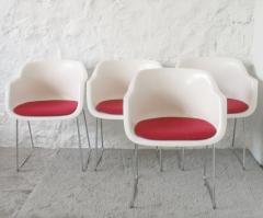 Babia bazar vintage :: conjunto de sillas grosfillex de 1970 ::  www.babia.info