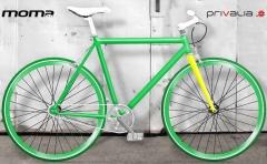 bicicletas moma fixied verde