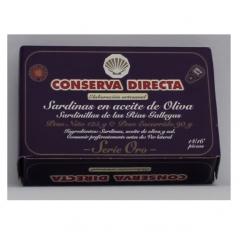 Sardinilla en aceite de oliva 14/16 piezas conserva directa