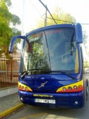 Volvo b 12 b de 54 plazas. adaptada para 6 pmr