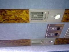 Autocares provistos con sonido individual y regulador de intensidad de climatizador