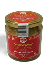 Bonito del norte en aceite de oliva 225 gr en tarro de cristal