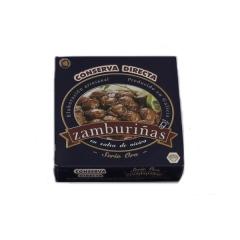 Zamburi�as en salsa de vieira ro-150 conserva directa