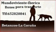 fOTO de logo de Boxes para perros de Mundoviviente-Iberica y Starkerhund-Iberica