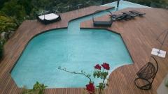 Ampliación de piscina en las rozas