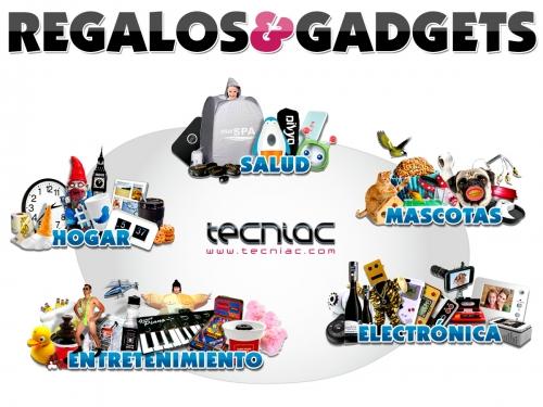 Regalos Originales y Gadgets Innovadores en Electr�nica, Hogar, Salud, Mascotas www.tecniac.com
