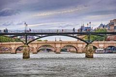 P�ster. puentes del sena por wifred llimona en la llimona foto