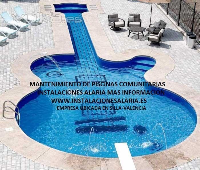 Foto instalaciones alaria mantenimiento piscinas for Empresas mantenimiento piscinas