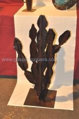 Cactus esculturas hierro decoracion artesania