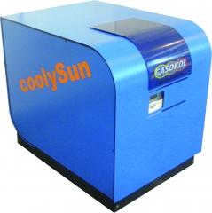 Frio solar con maquinas de adsorci�n y absorci�n