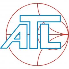 logo de ATL Telecomunicaciones y Celular, símbolo de calidad e innovación en radiofrecuencia.