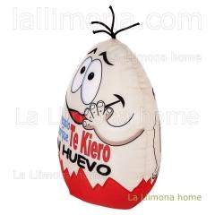 Cojin antiestres huevo te kiero un huevo 20 1 - la llimona home