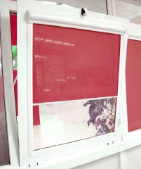 Estor cristal para ventanas abatibles