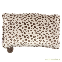 Nici peluches y complementos. nici leopardo boy coj�n rectangular 2 - la llimona home