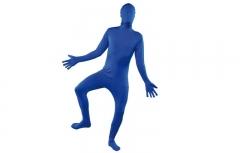 Disfraz barato sombra azul