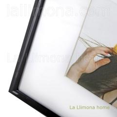 Portafotos multi ventanas. portafotos multiple galery pared negro 3 fotos 1 - la llimona home