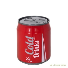 Gifts. papelera lata refresco cold drinks 21 - la llimona home